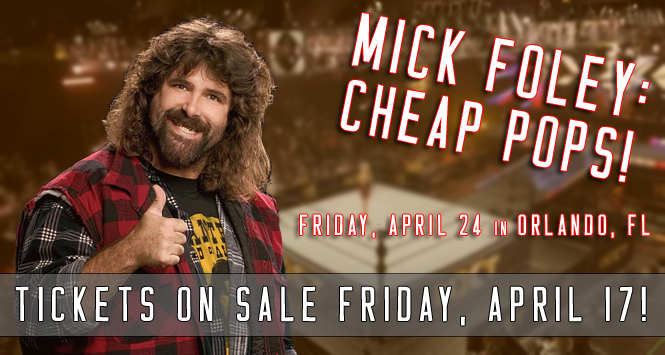 Mick Foley The Official Website Of The Wwe Hall Of Famer